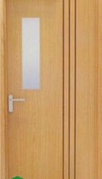 Cửa gỗ chống cháy - GCC.P1G1R3