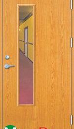 Cửa gỗ chống cháy - GCC.P1GL