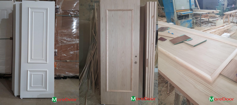 Thi công cửa gỗ công nghiệp